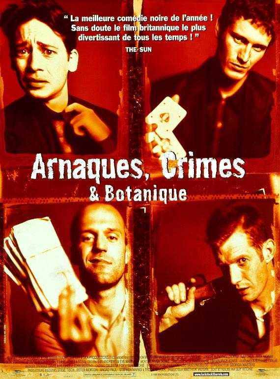 Arnaques, crimes et botanique affiche